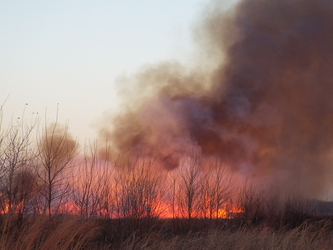 Hot Spot Monitoring From Kansas, Oklahoma Blaze Continues