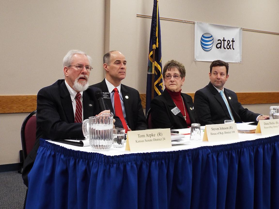Taxes, Schools Dominate Legislative Update