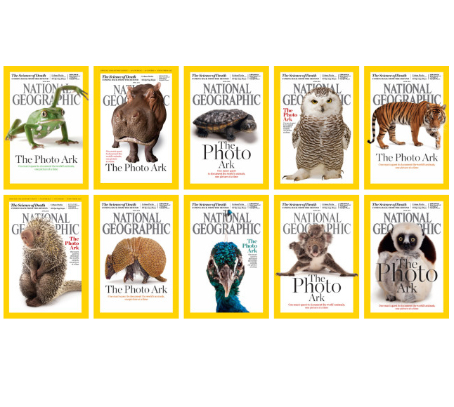 Salina Zoo Makes Cover of National Geographic