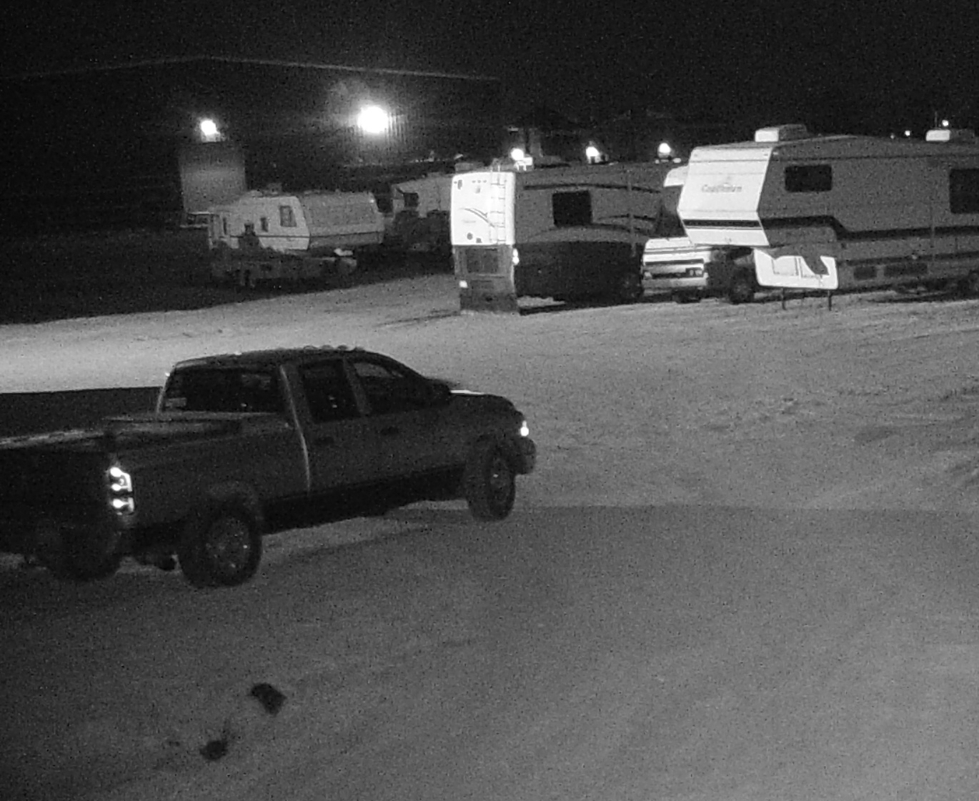 Suspect Sought in Camper Theft