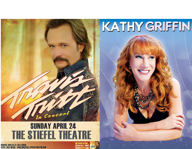Travis Tritt, Kathy Griffin Coming to Salina