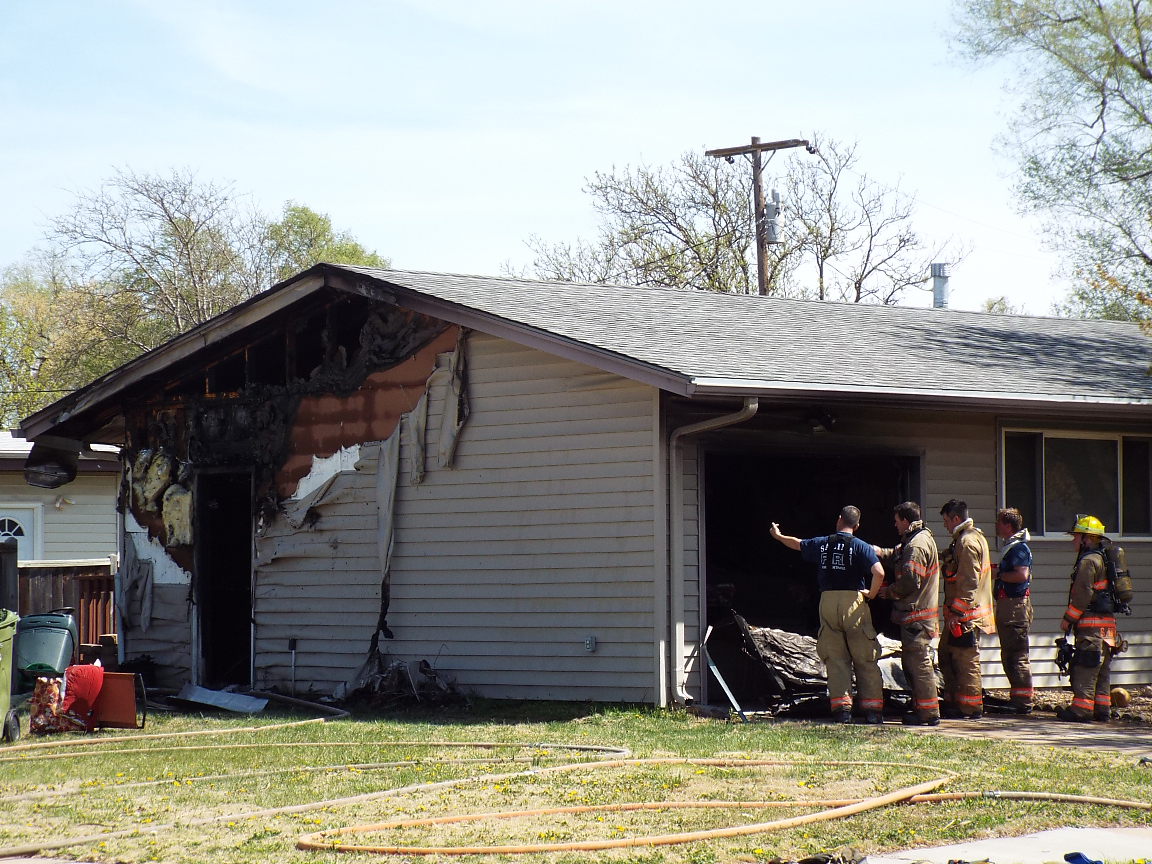 Victim Rescued From Fire