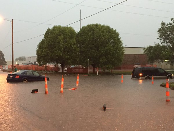 Storms Drop 50-Year Rainfall Amounts