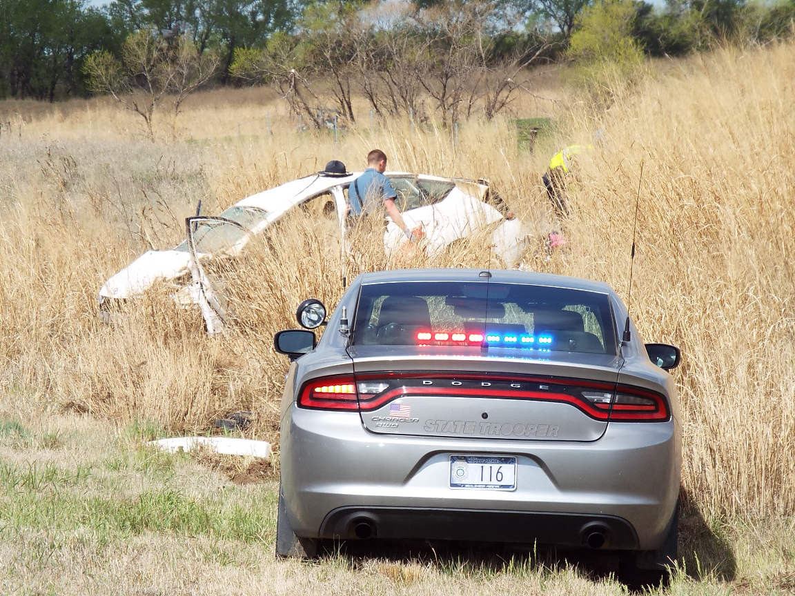 PHOTO GALLERY: Chase Ends in Injury Accident