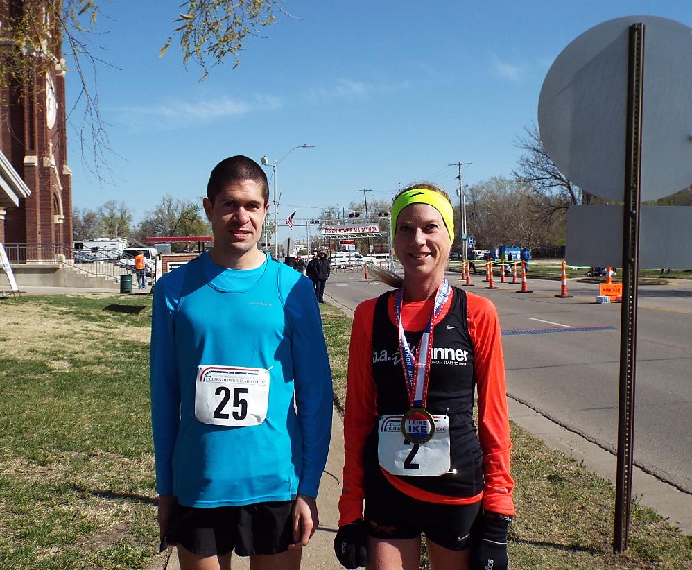 Familiar Faces Win Eisenhower Marathon