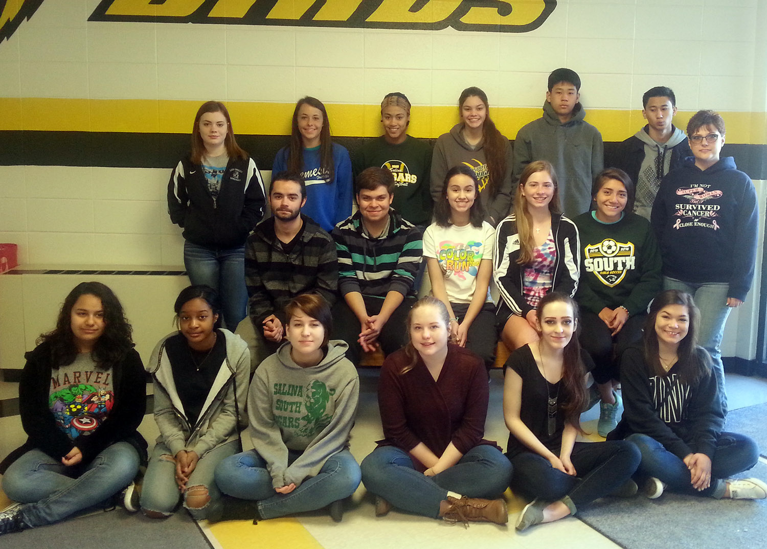 South Students Tour Cadaver Lab