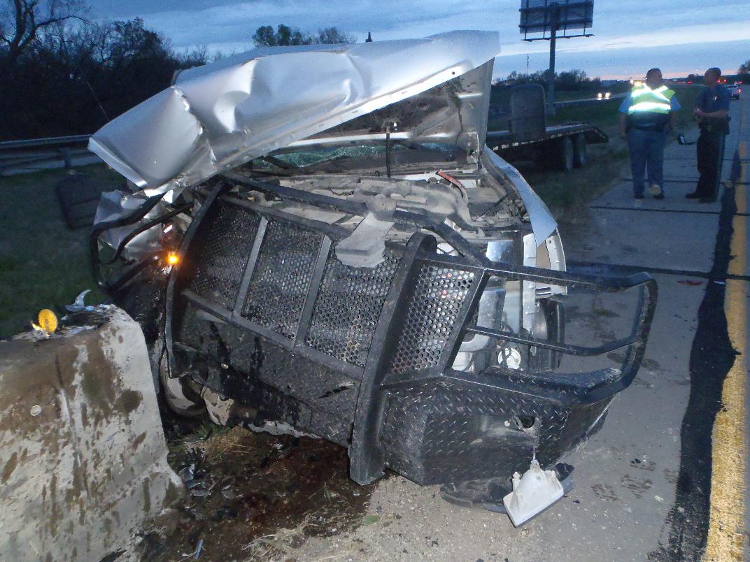truck trailer crash