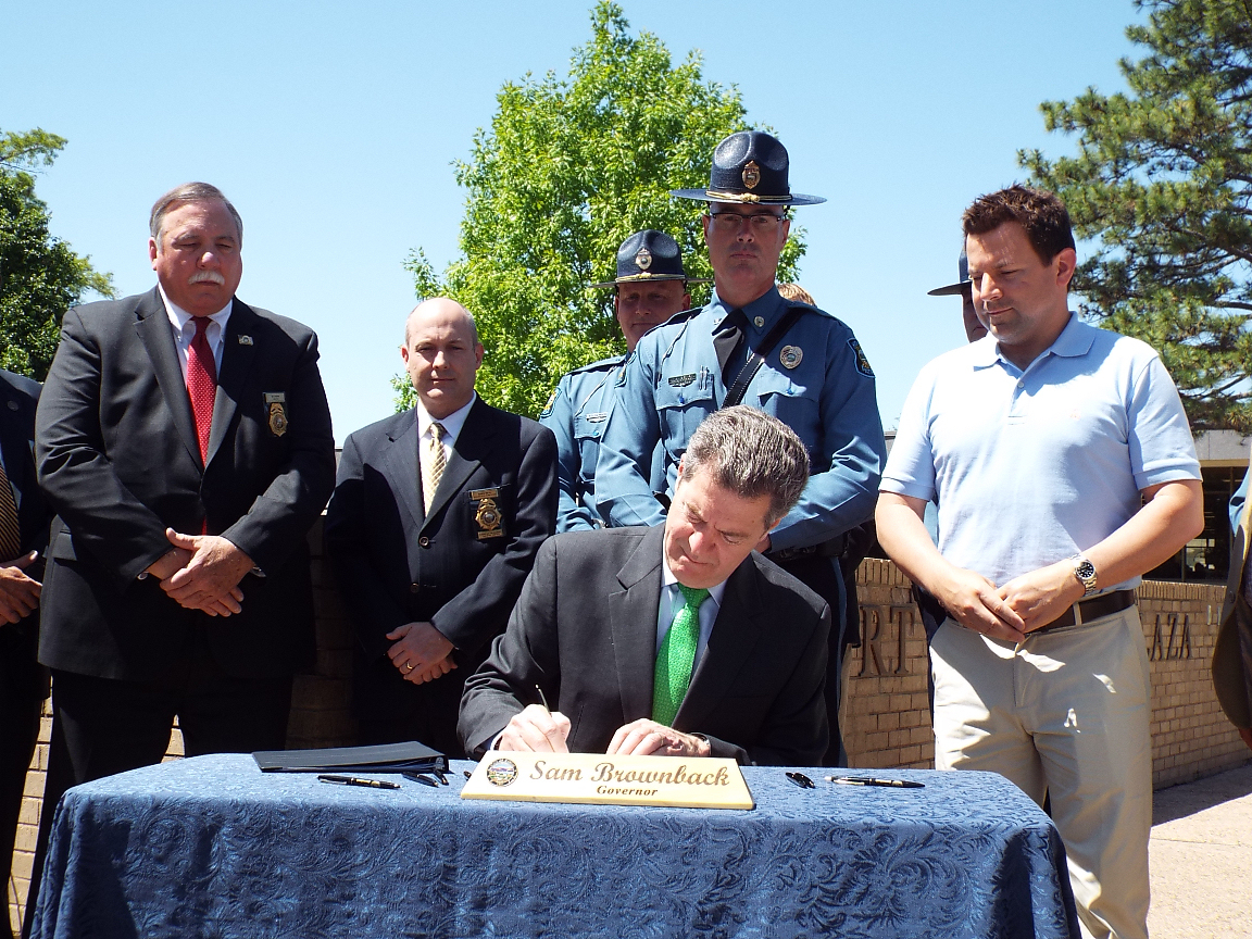 Governor Signs Laws in Salina