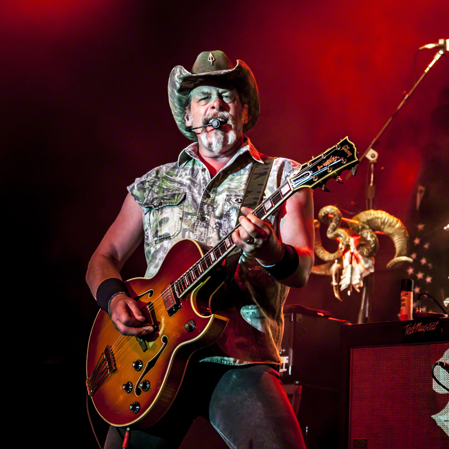 Ted Nugent to Rock Salina