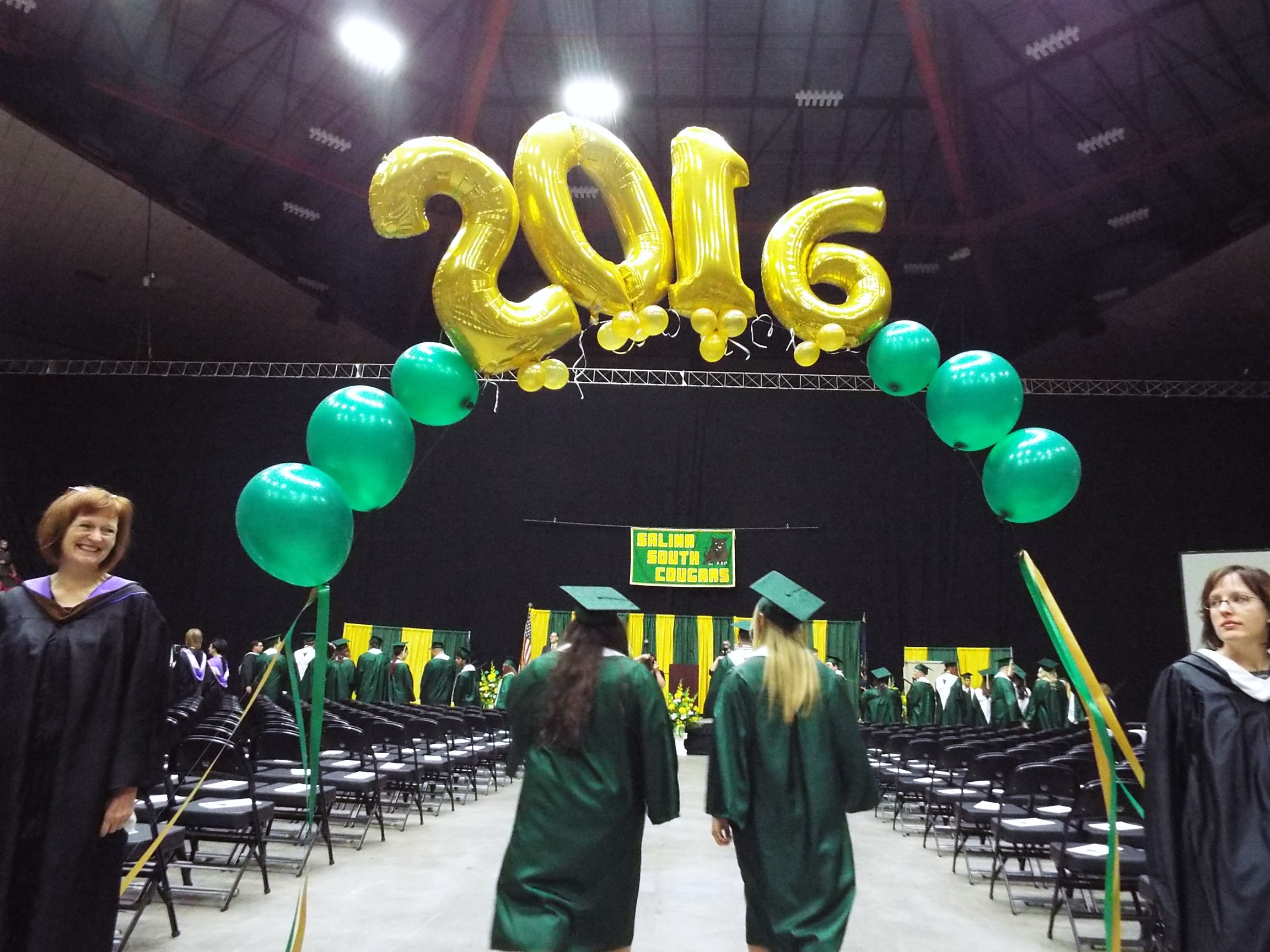 Pomp And Circumstance; Seniors Say Goodbye