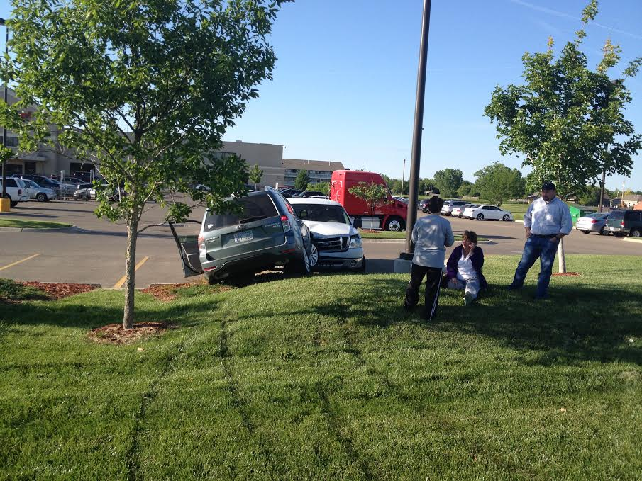 PHOTO GALLERY: SUV Knocked Down Embankment