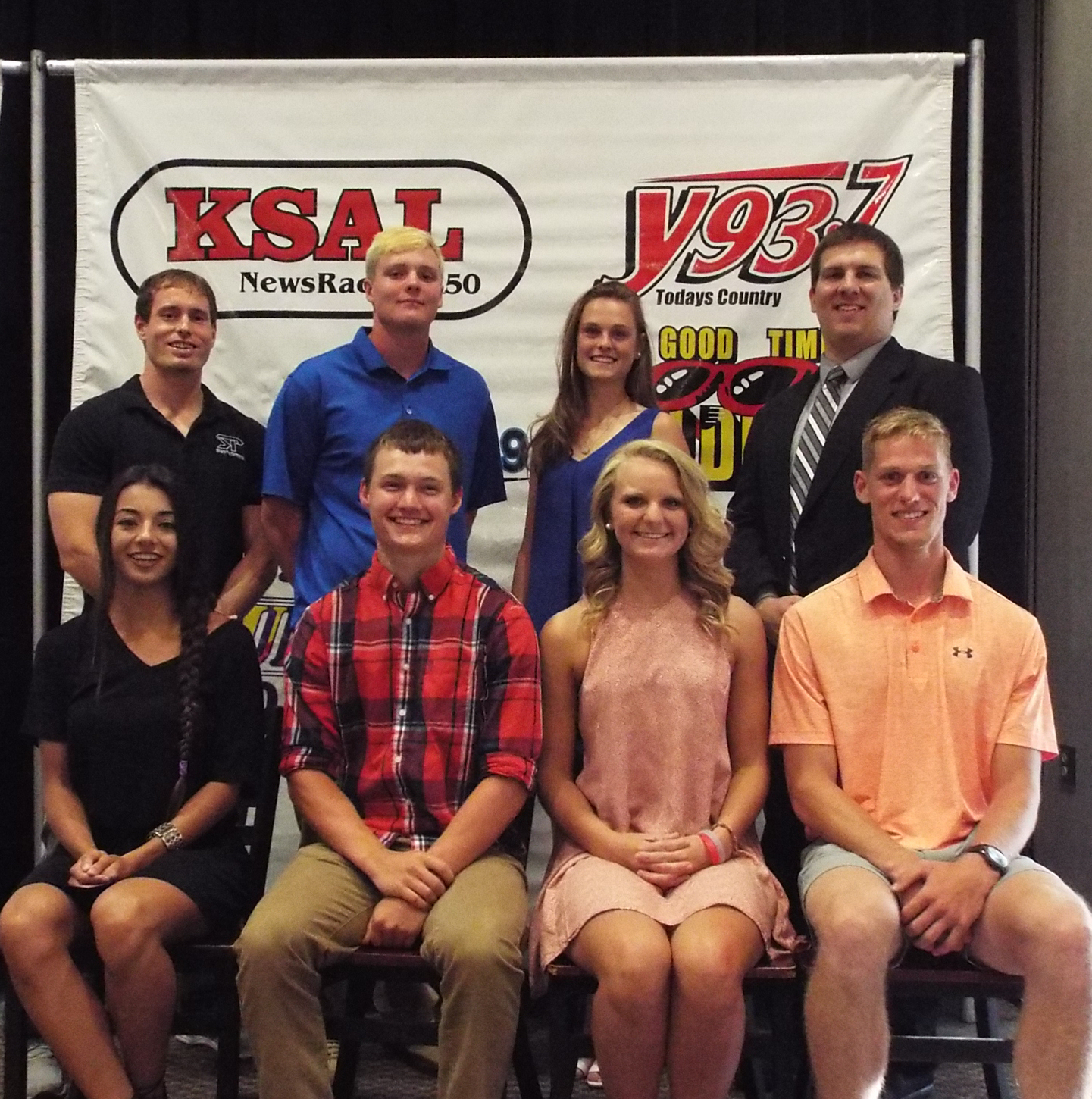 Each student athlete was awarded a $1,000 scholarship.