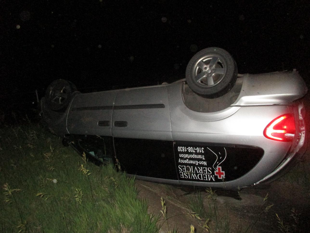 Man Injured in Van vs Deer Crash
