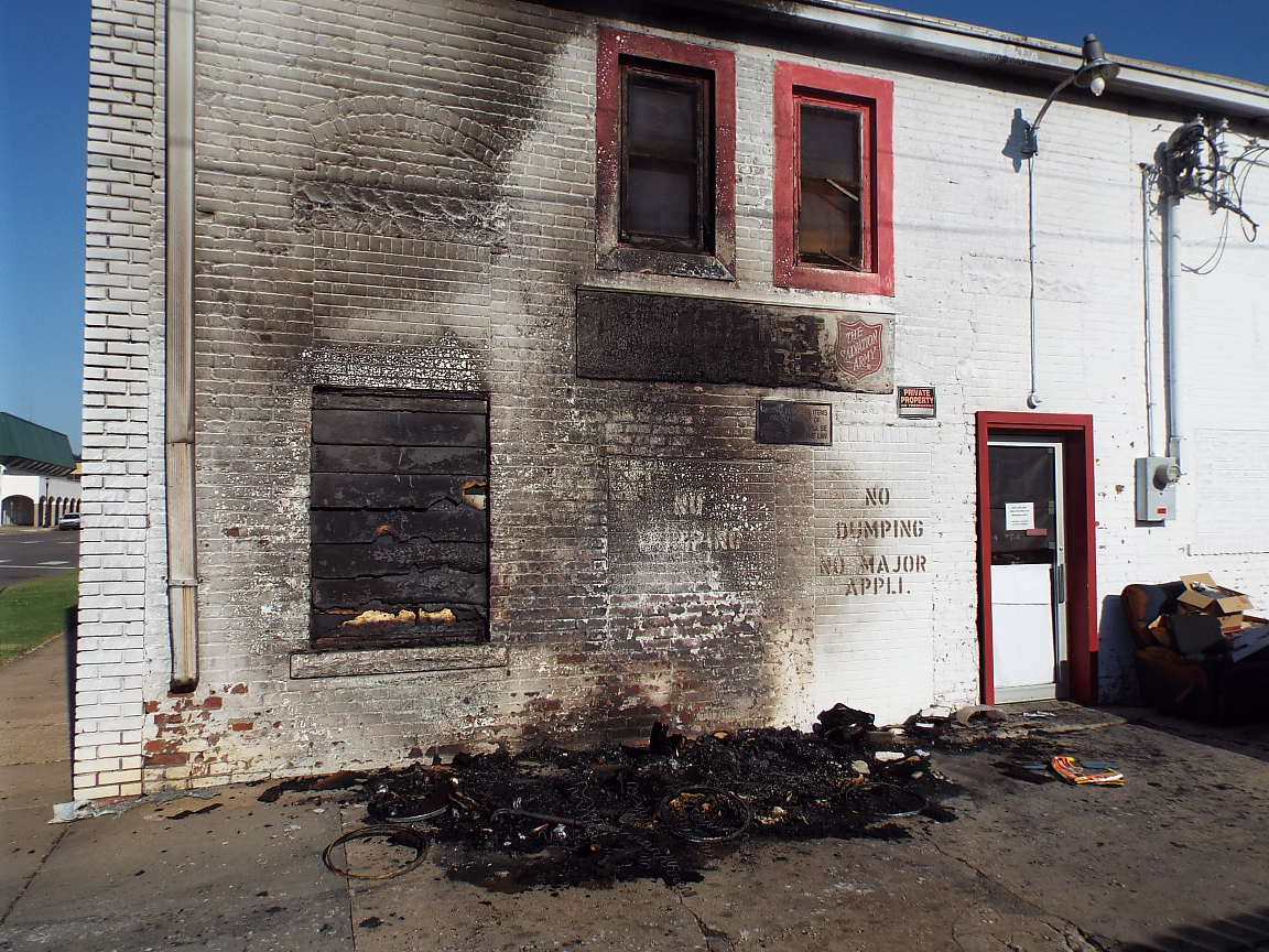 Fire Damages Thrift Store