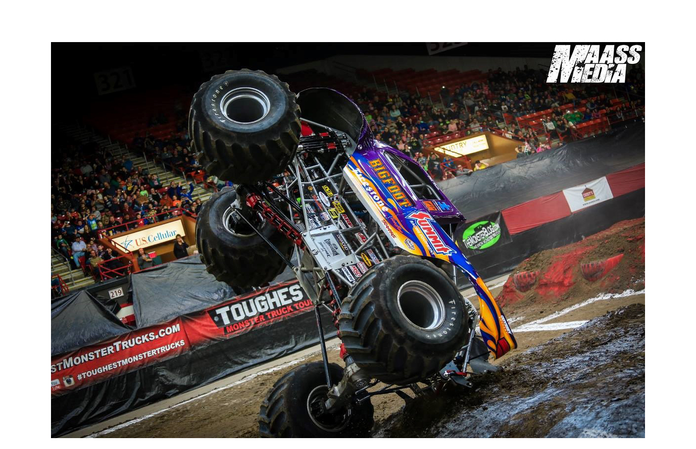 Monster Trucks Coming Back to Salina