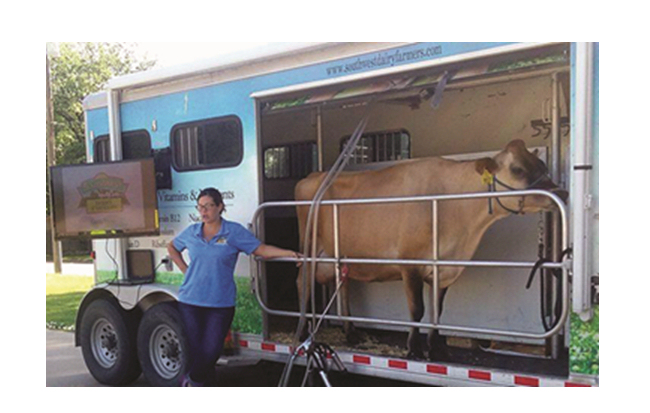 Southwest Dairy Farmers Mobile Classroom Coming to Salina