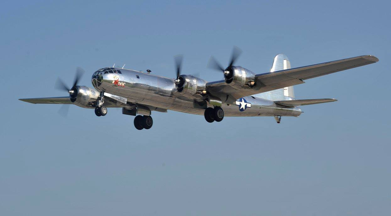 B-29 Takes to Sky After 6 Decades