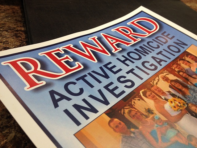 Weekend Event For Unsolved Murder Reward Fund
