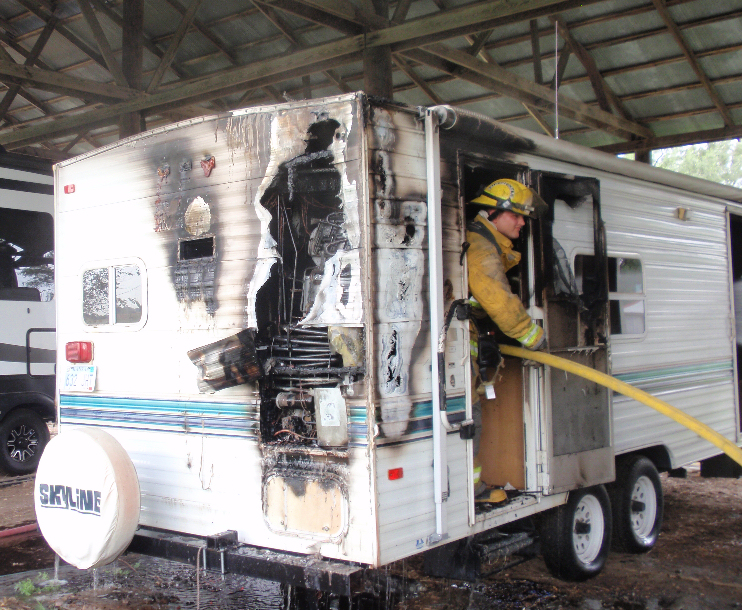 Sheriff: Trailer Fire Not Suspicious