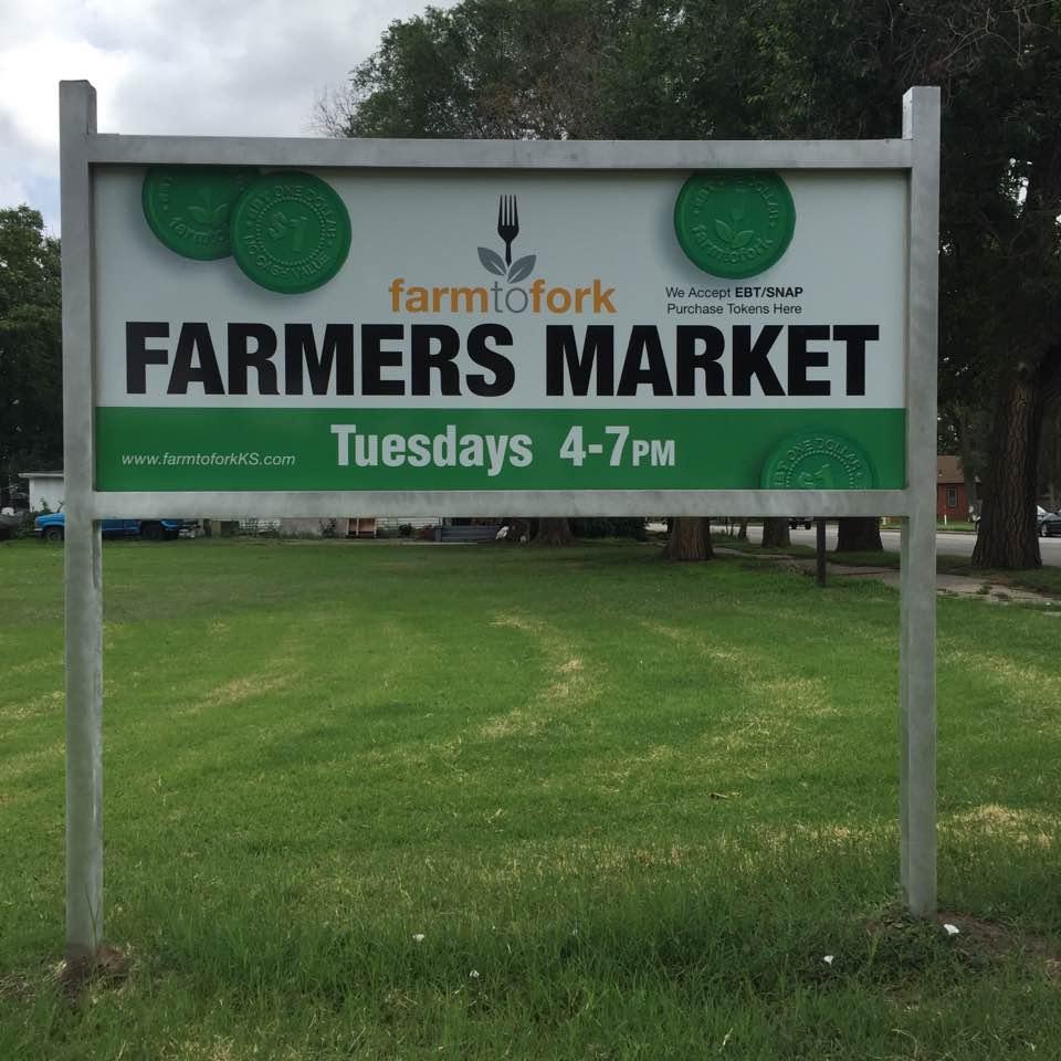 Double Bucks at Farmers Market