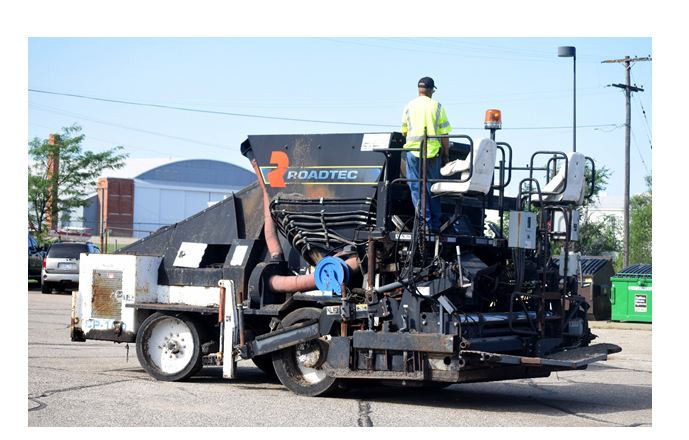 Asphalt Paver Donated to Salina Tech