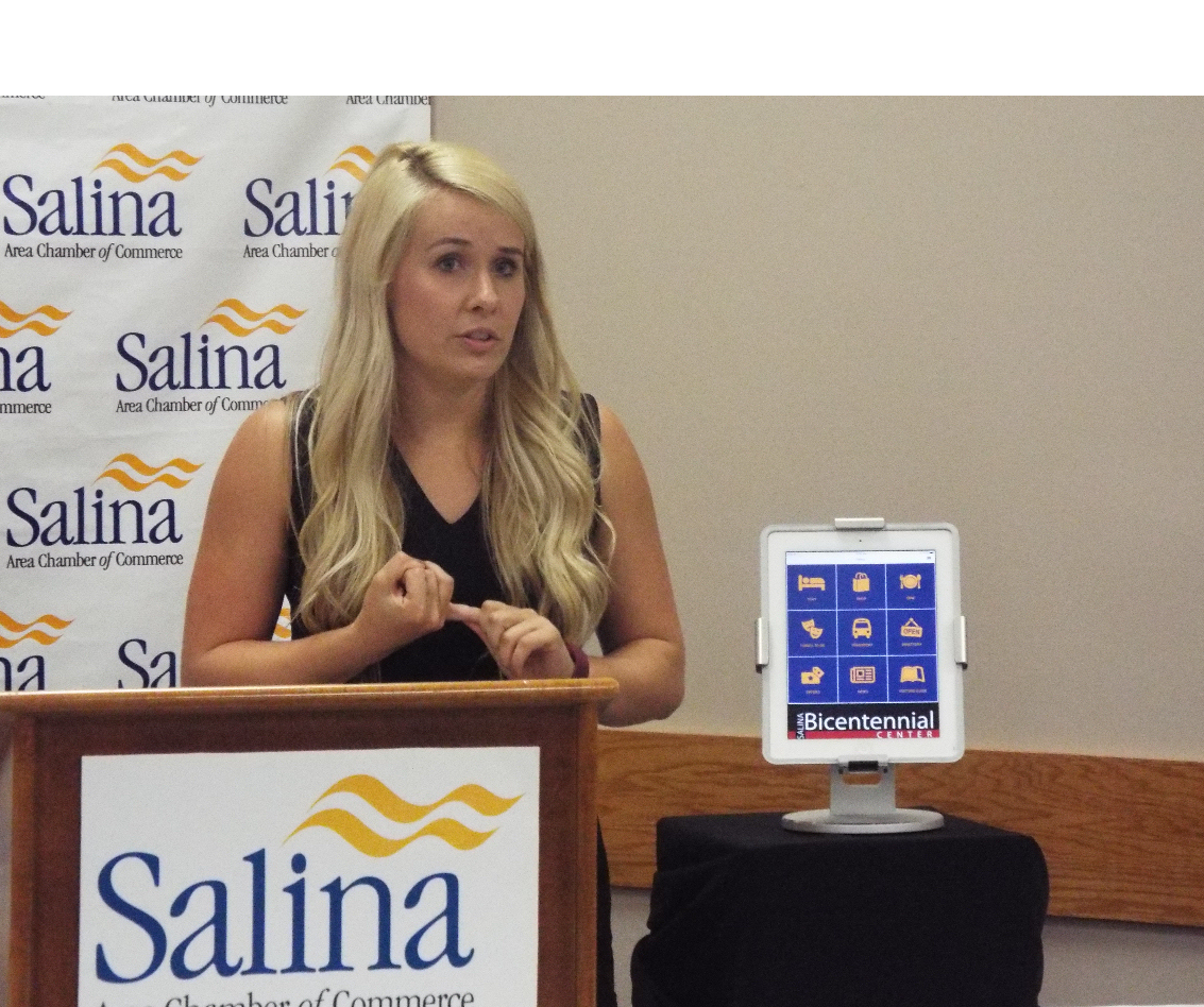Chamber Unveils New Salina App