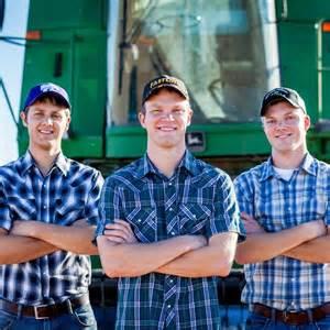Farming, Football and Peterson Farm Bros