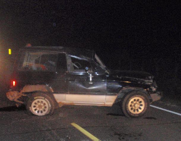 Fatal Crash West of Salina