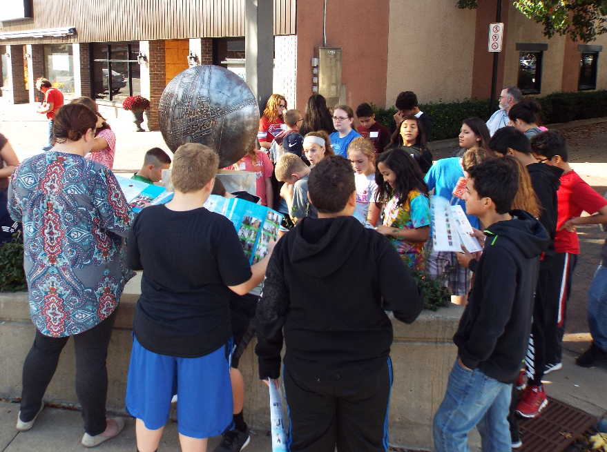 650 7th Graders to Visit Downtown Salina's Arts & Culture
