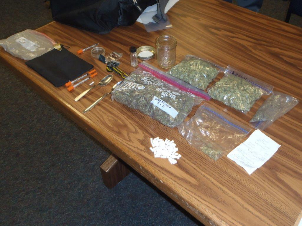 Pot Confiscated, Two Arrested