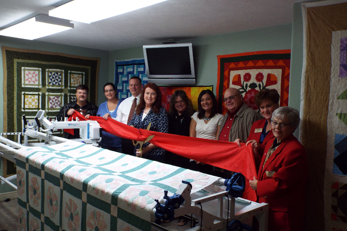 Lifetime Quilter Opens Business