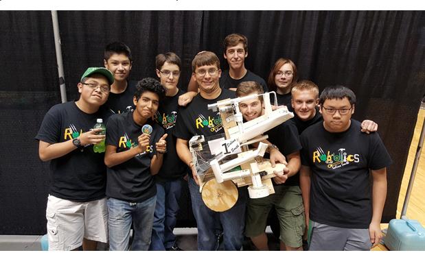Robotics Team Dares to Dream