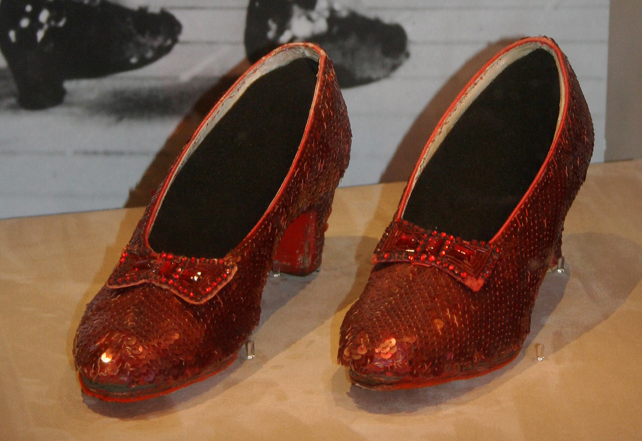 $300K Campaign to Rescue Dorothy's Ruby Slippers