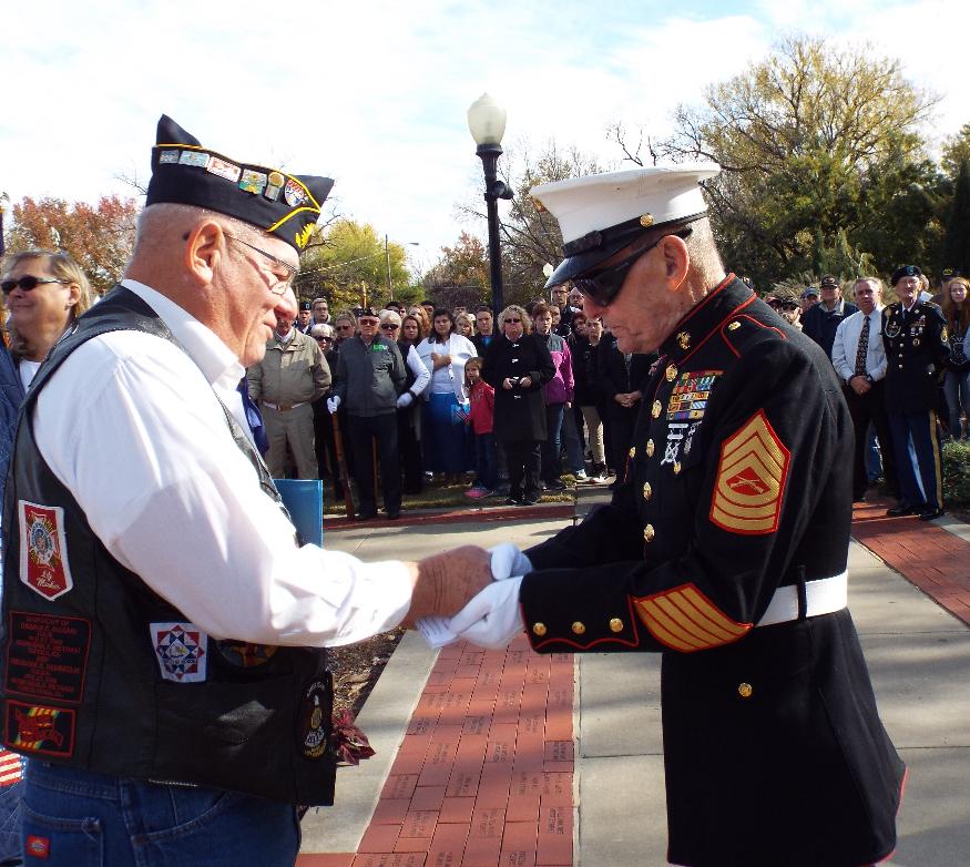 Final Ceremony For Salina Veteran