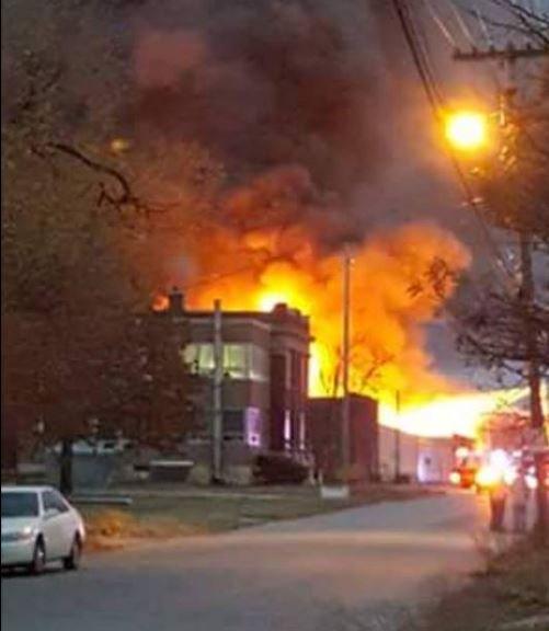 Explosion at Kansas Chemical Plant