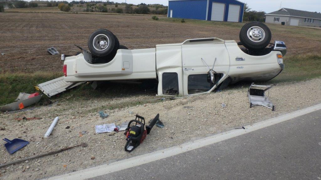 Salina Woman Injured in Crash
