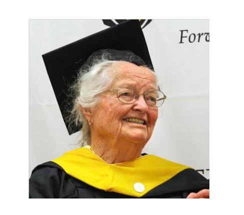 Oldest College Graduate Dies at 105