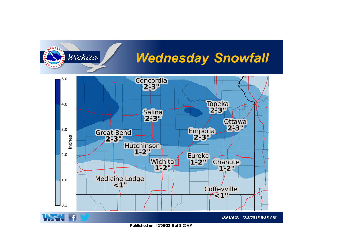 First Significant Snow of the Season Possible