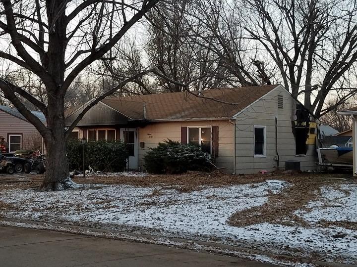 Home Uninhabitable After Fire