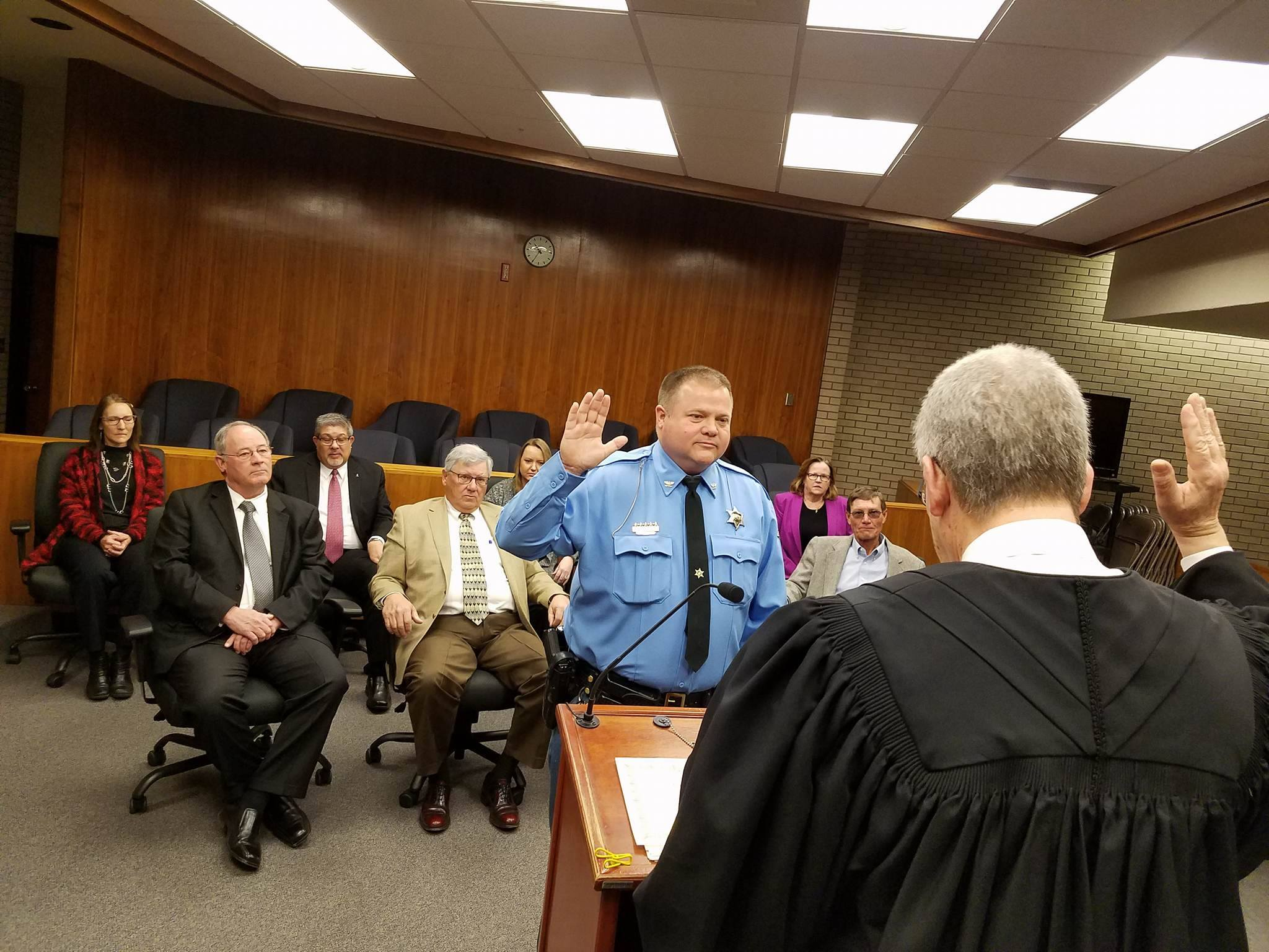 Saline County Officials Sworn-In
