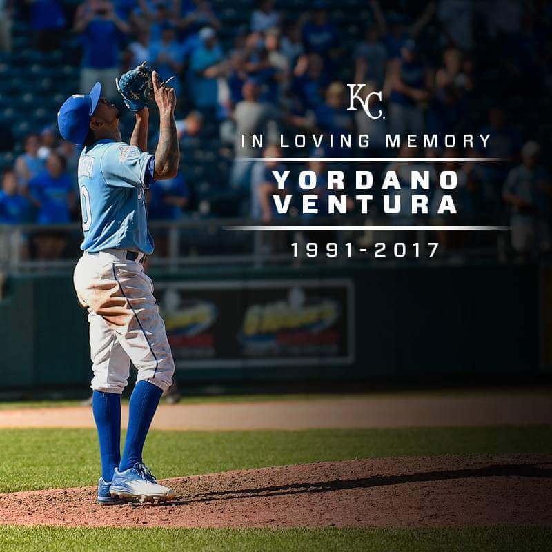 AUDIO: Royals Mourn The Loss Of Pitcher Yordano Ventura