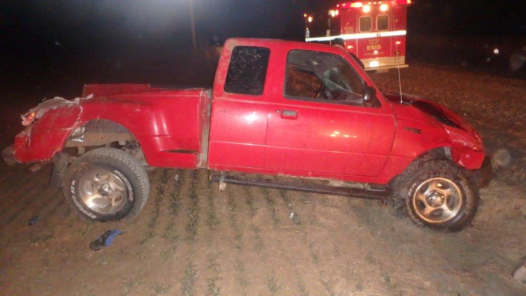 Man Ejected in Saline County Crash
