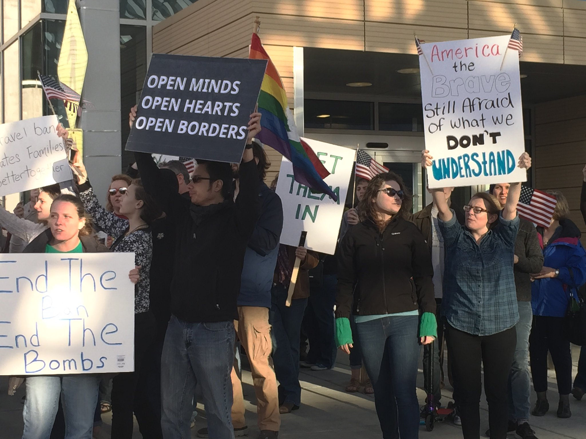 Immigration Protests Spread to Kansas