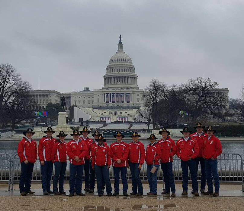 Kansas Military at Inauguration