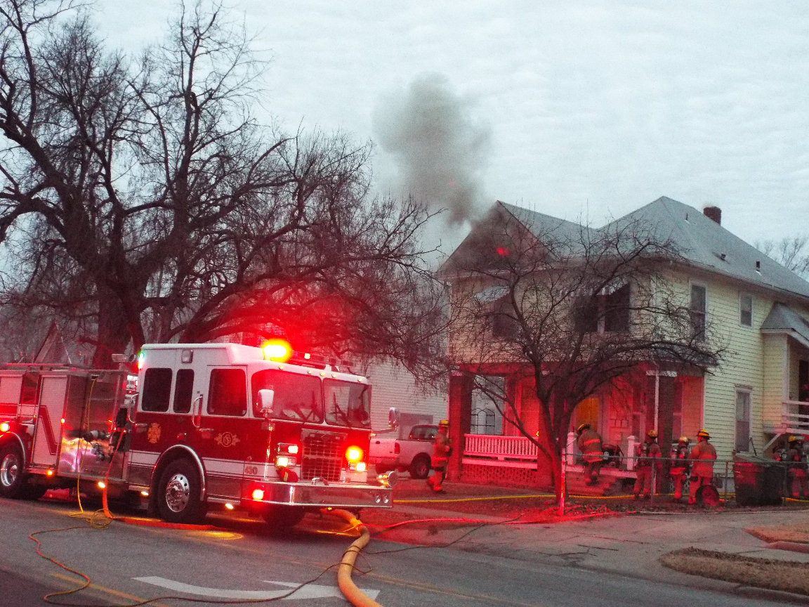UPDATE: Fire Damages Central Salina Home