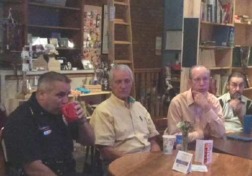 """Chief Ready For Another """"Coffee with a Cop"""""""