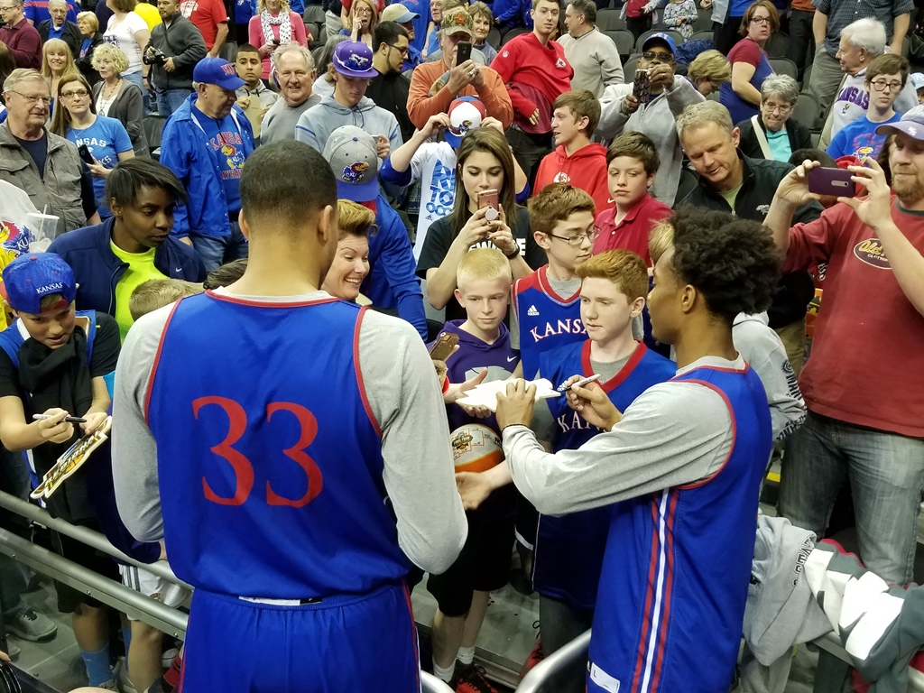 AUDIO & VIDEO: KU Prepares For Purdue