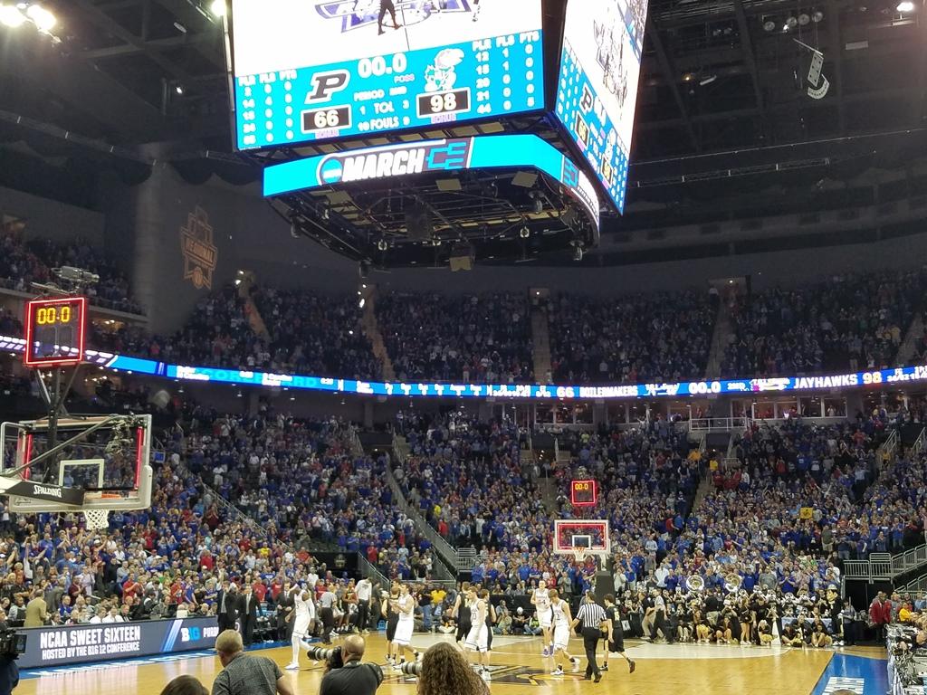 AUDIO & VIDEO: Kansas Dominates Purdue