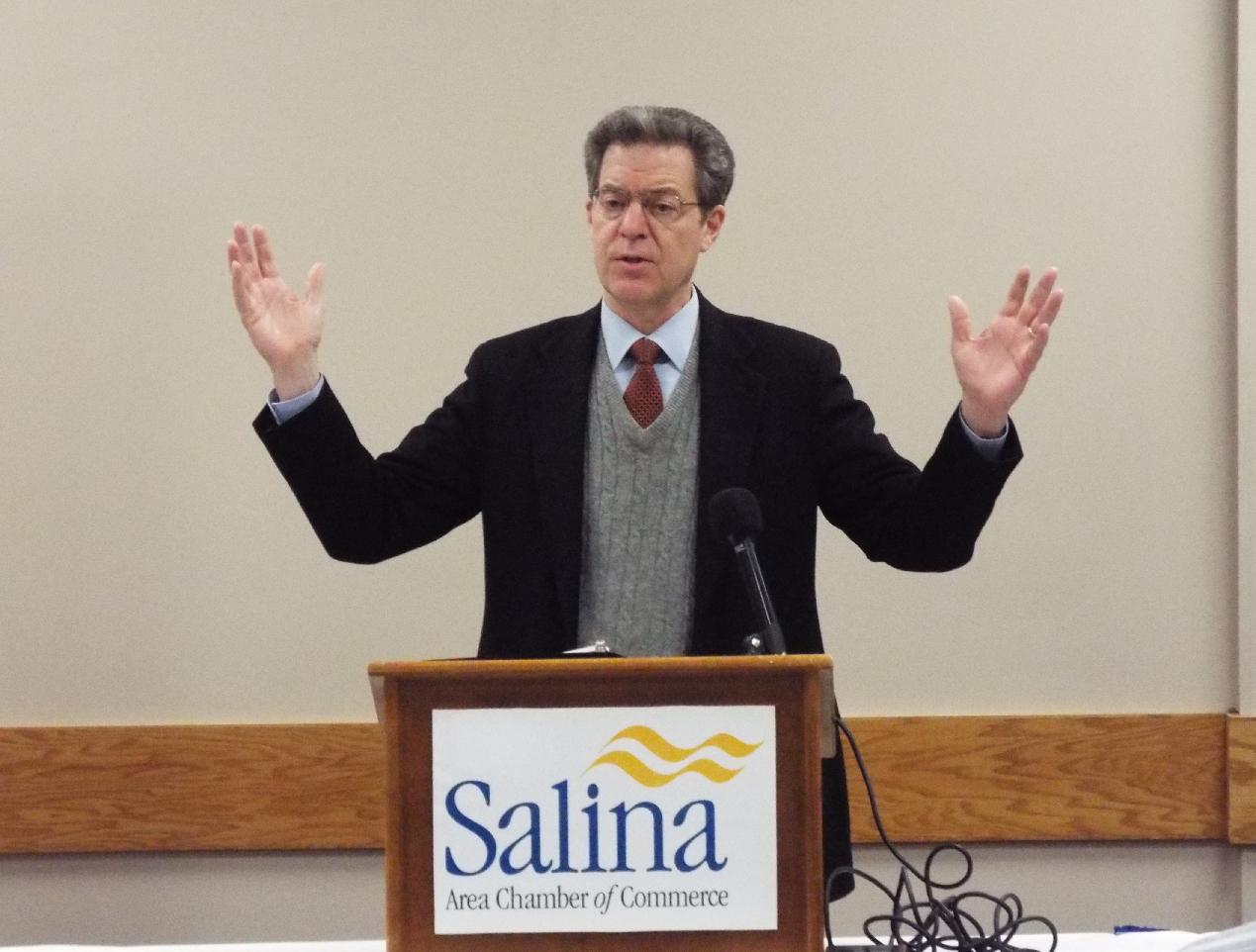 Governor Kicks Off Juvenile Program in Salina