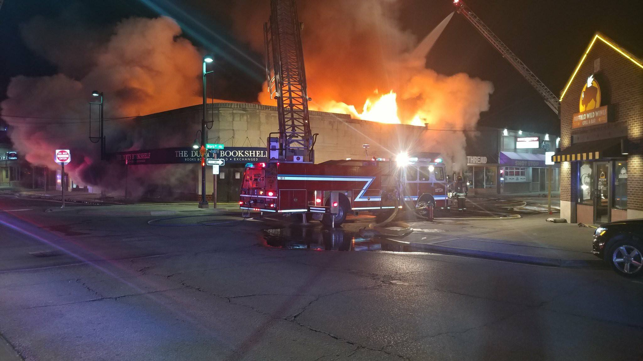 UPDATE: Aggieville Fire Ruled Accidental